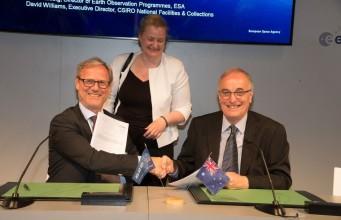 ESA-CSIRO-Agreement-collaboration-earth-observation