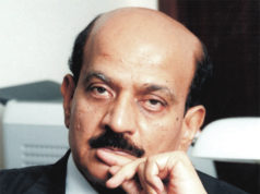 B.V.R. Mohan Reddy, NASSCOM chairman, and founder & MD of Cyient