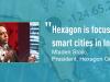 Hexagon Geospatial - Focusing on Smart Cities in India