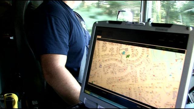 The in-truck computer with various features to help in emergency. Credits:wdrb.com
