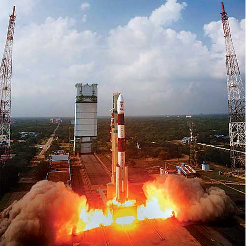 In pics: ISRO's achievements in the last three years