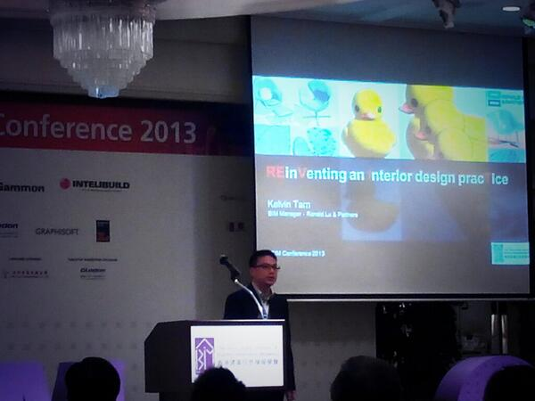 Kelvin Tan, Ronald Lu & Partners shifting focus from exteriors to the interiors of the building at #HKIBIMConf