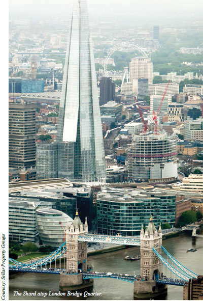 Putting together the Shard in London - Geospatial World