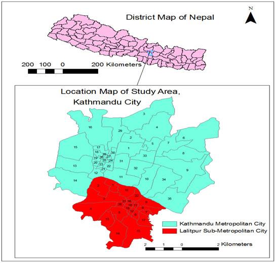 Dynamics Of Land Cover Change In Kathmandu Nepal