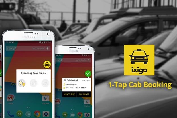Travel website ixigo.com, has introduced a new feature for its mobile App that provides the user with the nearest booking of the cab with just one tap on the phone?s home screen button. The company claims that the service doesn?t require a GPS to function. Currently, the service is available only for Android phones.