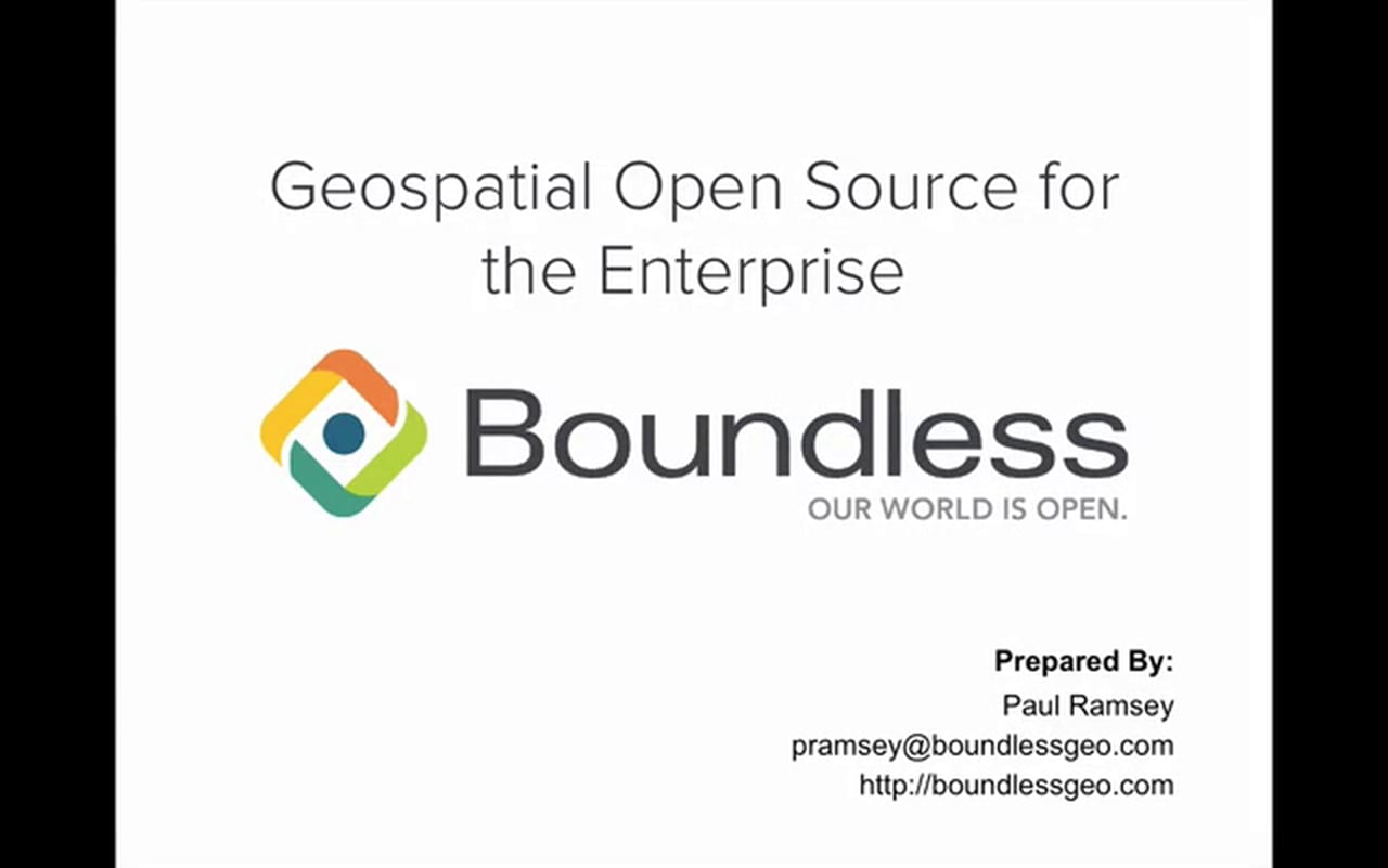 Open source geospatial software and services provider, Boundless, on Monday, launched some of its latest products designed to enable organizations to successfully transition to the open source GIS platform.