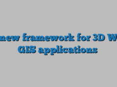 A new framework for 3D Web GIS applications