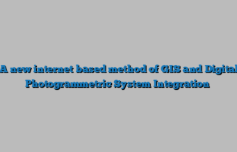 A new internet based method of GIS and Digital Photogrammetric System Integration