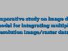 Comparative study on image data model for integrating multiple resolution image/raster data