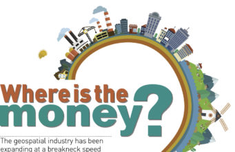 Where is the money in the geospatial business and industry?