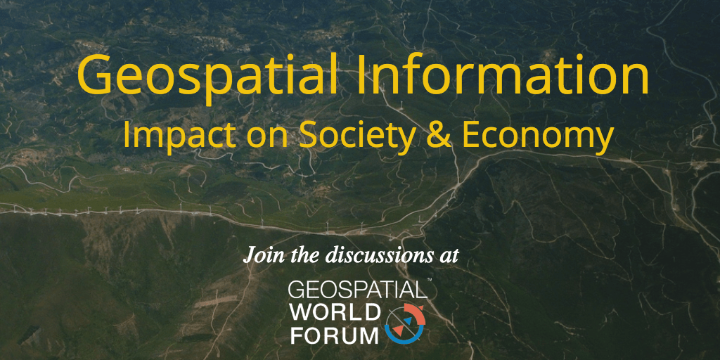 Geospatial Information - Impact on economy and society