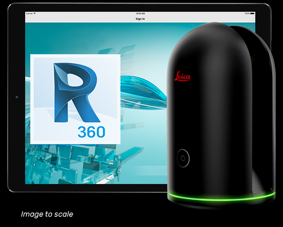 Leica BLK360 and Autodes ReCap 360 Pro - Image Credits: Autodesk