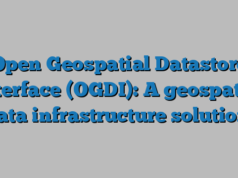 Open Geospatial Datastore Interface (OGDI): A geospatial data infrastructure solution