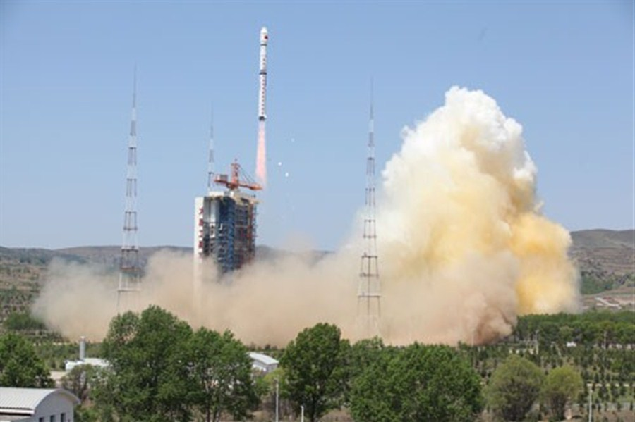 Ziyuan III 02 satellite launch from Taiyuan Satellite Launch Center in north China's Shanxi Province