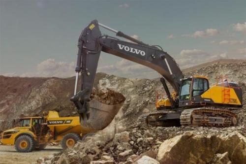 Topcon-Volvo CE for 3D-MC excavation