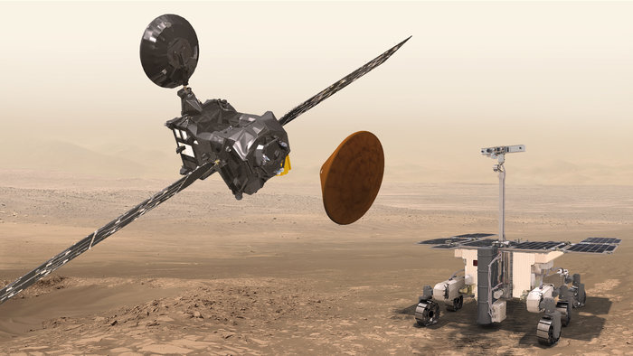 Jointly developed by the Roscosmos State Corporation and the European Space Agency (ESA), the ExoMars 2016 interplanetary mission is marking the first phase in the European-Russian ExoMars cooperation programme. The success of this mission is the direct result of long and fruitful cooperation between Russian and European experts involved in ExoMars 2016.