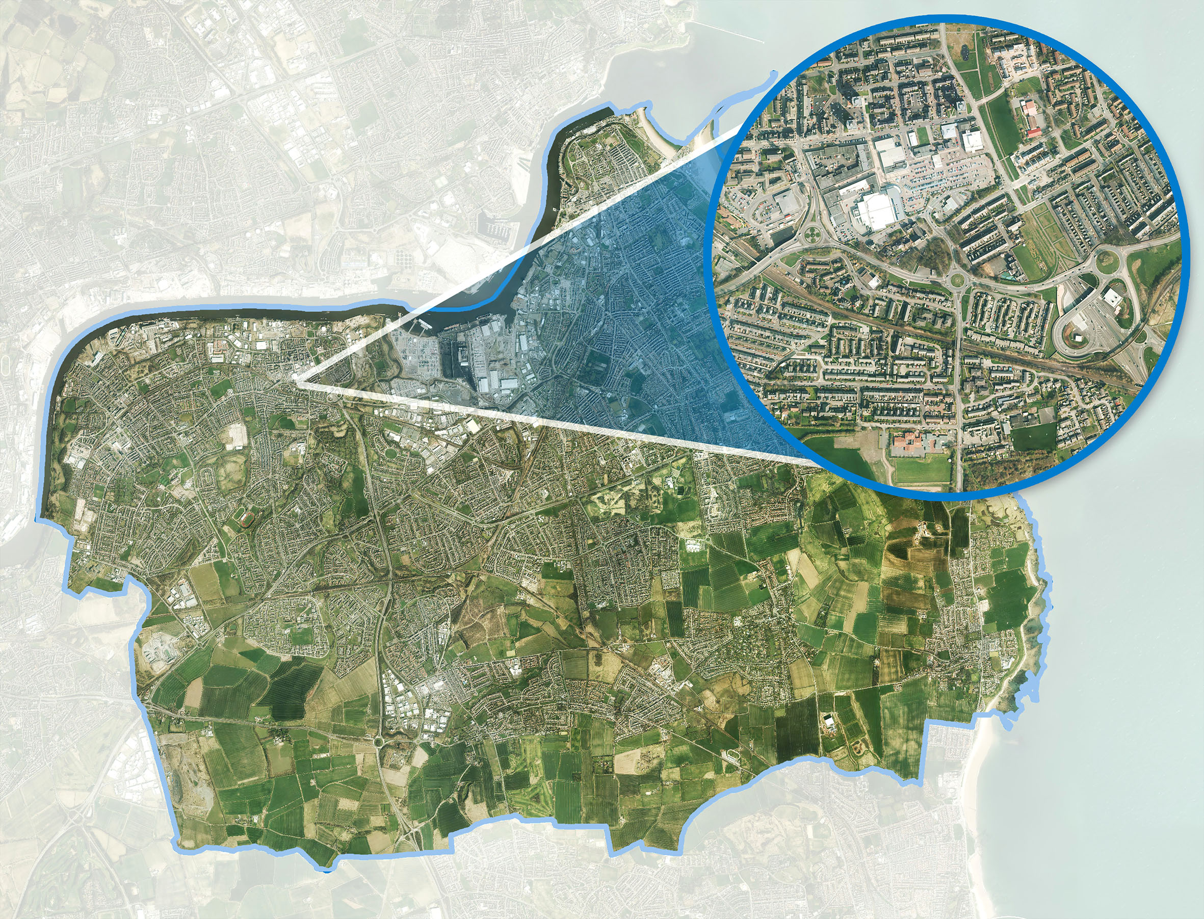 South Tyneside Council of the UK is using Bluesky's digital aerial survey data to update essential Council records