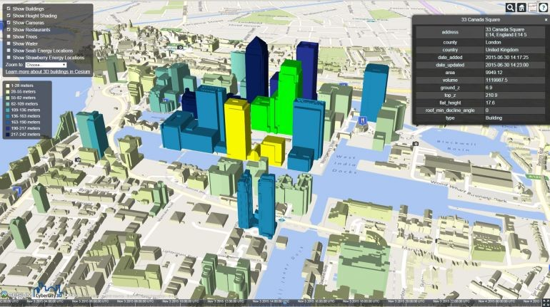 CartoConsult completes 3D mapping project for Pearson Business School's prospectus brochures