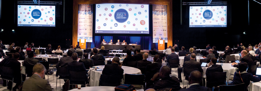 Geospatial World Forum: 23-26 May, 2016 in Rotterdam, The Netherlands