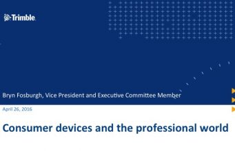 Consumer Devices and the professional World