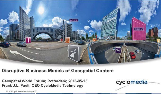 Disruptive Business Models of Geospatial Content