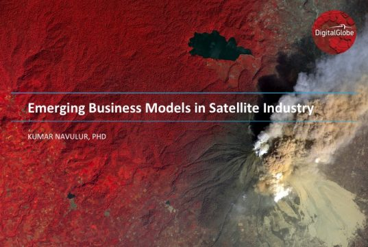Emerging Business Models in Satellite Industry