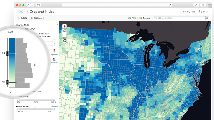 Esri introduced a suite of public mapping tools and data to help communities protect places and natural resources