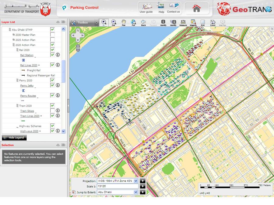 City Municipality of Abu Dhabi uses GIS to form roads layout