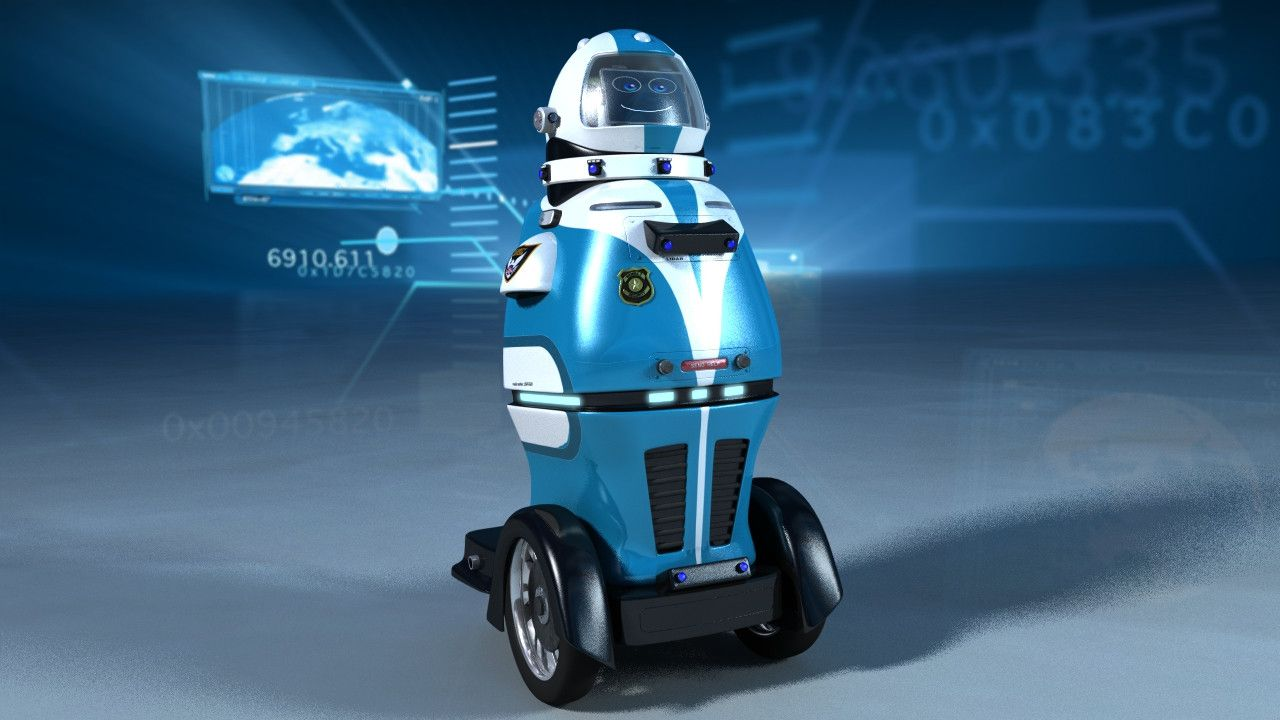 Gamma 2 Robotics has launched a new security patrol robot, RAMSEE at HxGN LIVE, Hexagon's international conference
