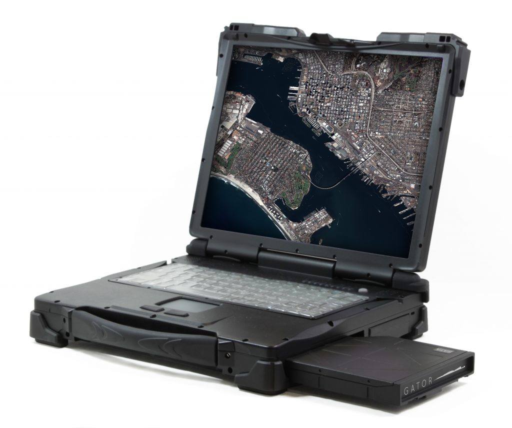 Airbus and American Reliance have partnered to integrate GATOR into the GATOR Rugged Geospatial Laptop.