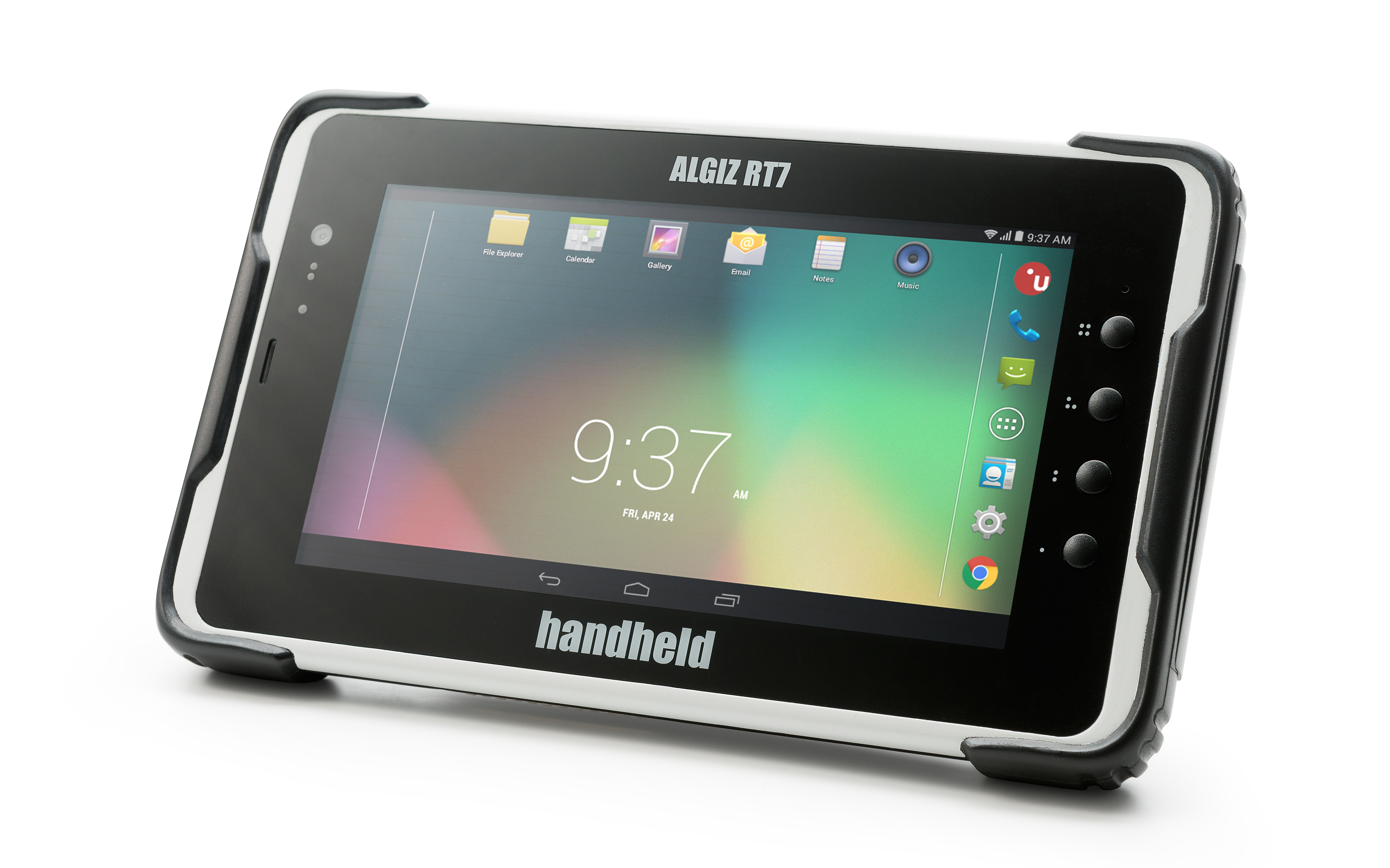 Handheld Group has announced a new version of its popular Algiz RT7 Android tablet that adds a specialized RFID reader