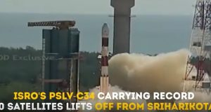 ISRO-PSLV-C34-launch-20-satellites