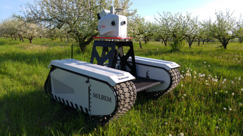 Milrem and Leica Geosystems have launched the UGV, Pegasus:Multiscope for surveying and monitoring