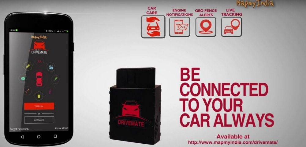 MapmyIndia launches its next-generation Connected Car IoT (Internet of Things) technology, DriveMate