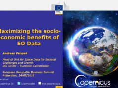 Maximizing the socio-economic benefits of EO Data