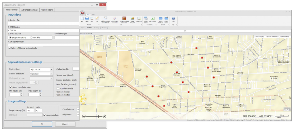 Icaros has released an upgraded version of its OneButton UAS image processing software
