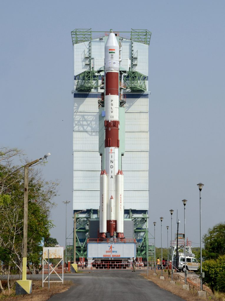 ISRO to launch its Cartosat-2 series satellite for earth observation with a record 19 co-passenger satellites
