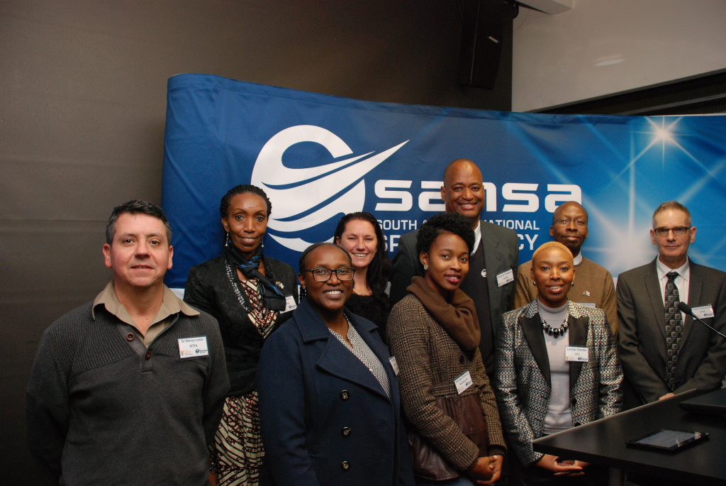 Presenters on the day who demonstrated applications of SPOT satellite imagery.
