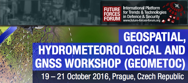 Geospatial World has become a partner in GEOMETOC Workshop, held in Prague, Czech Republic