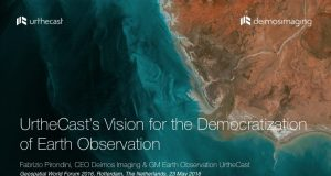 UrtheCast's Vision for the Democratization of Earth Observation