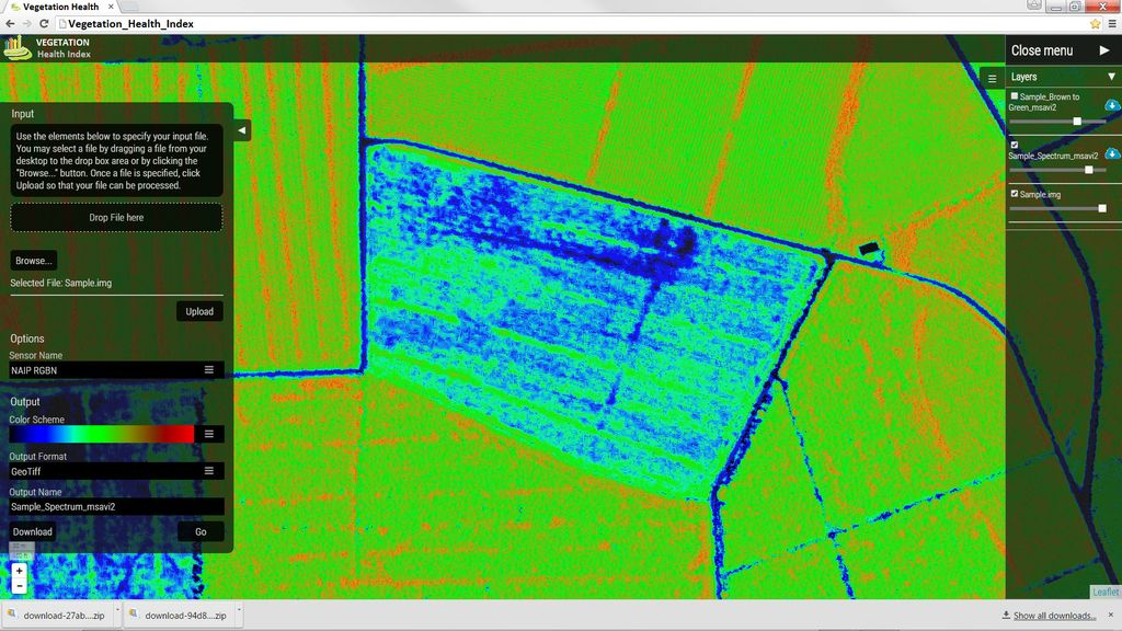 Hexagon releases seven Vegetation Health Hexagon Smart M.Apps, which use remote sensing algorithms to identify the plant and crop health.