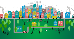 Smart city illustration. Courtesy: callmeramzo