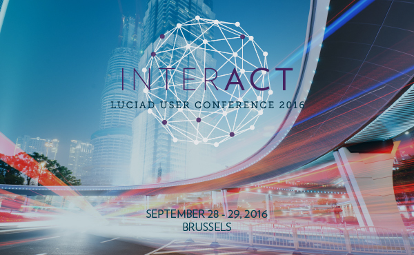 Luciad announced the dates for its INTERACT 2016 User Conference