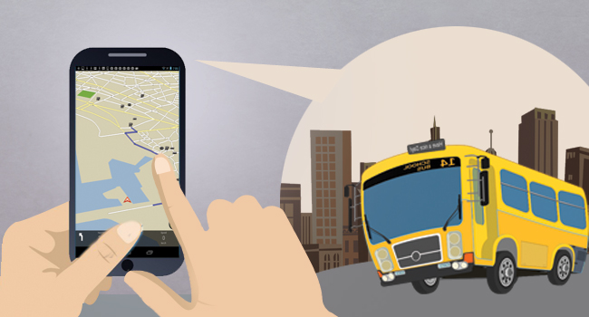Transport dept of Kerala has adopted the move of bringing private buses under GPS surveillance.
