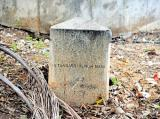 A 19th-century stone slab, which was part of the century-long GPS survey, is in danger of being destroyed in Bengaluru