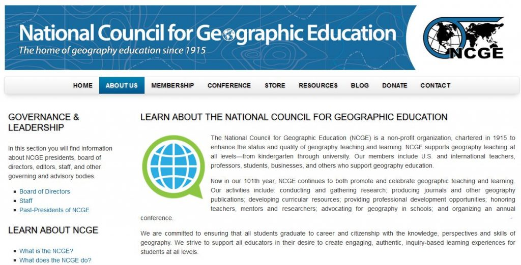 Esri Education manager Tom Baker and a research group of seven university faculty members was selected as the Best Article for Geography Program Development