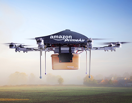 Amazon gets patent to use drones as means for delivery