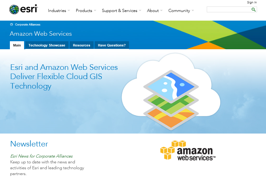 Esri is trying to rehabilitate low-risk offenders using GIS and ArcGIS on the Amazon Web Services (AWS) Cloud