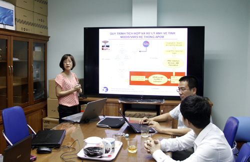 Scientists from Hanoi University have invented air pollution warning system that uses satellite imageries