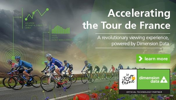 Dimension Data has released a summary of the data by the Tour de France riders and analysed